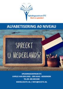 Brochure Alfabetisering